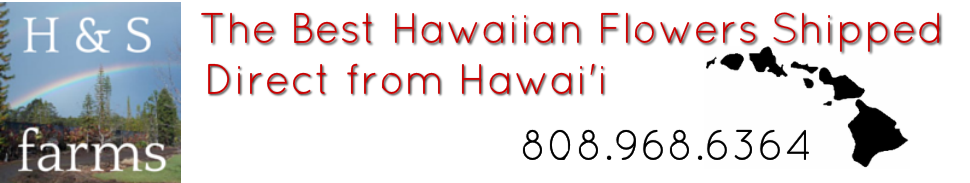 H & S Farms - The Best Flowers Direct from Hawai'i shipped to your door.